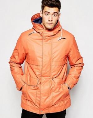 Parka London Куртка. Цвет: оранжевый