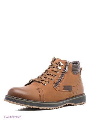 Ботинки Kari. Цвет: светло-коричневый