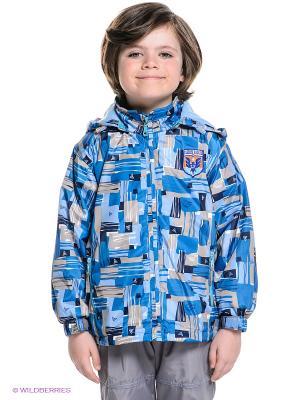 Куртки M&DCollection. Цвет: синий