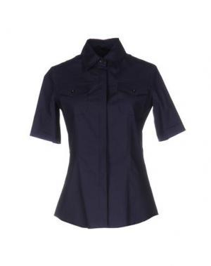 Pубашка FABRIZIO LENZI. Цвет: темно-синий