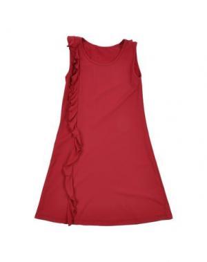 Пляжное платье FISICHINO. Цвет: красный