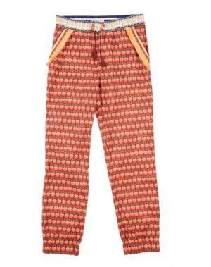 Повседневные брюки SCOTCH R'BELLE. Цвет: красно-коричневый