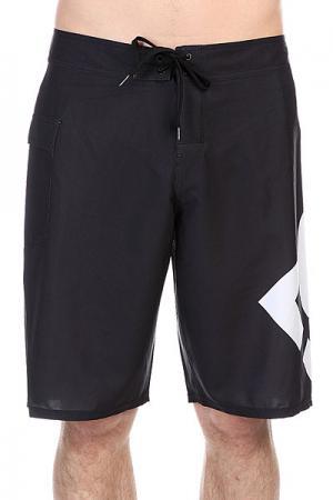 Шорты пляжные DC Lanai 22 True Black Shoes. Цвет: черный,белый