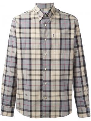 Рубашка на пуговицах Herbert Barbour. Цвет: телесный