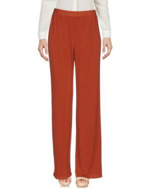Повседневные брюки GAZEL. Цвет: ржаво-коричневый