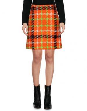 Мини-юбка PIU' &. Цвет: оранжевый