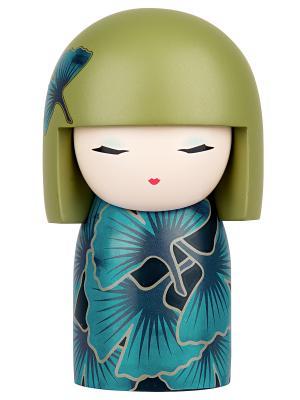 Кукла-талисман Чийоко (Молодость) Размер maxi (10,5х6,3 см.) Kimmidoll. Цвет: голубой