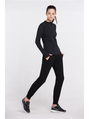 Спортивные брюки Vansydical FBF050. Цвет: черный, розовый