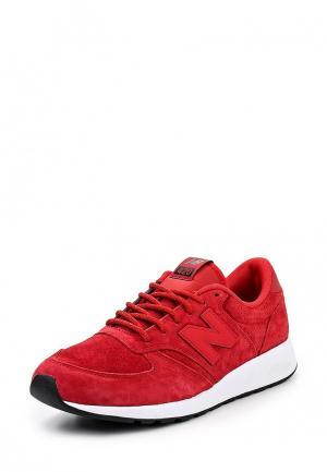Кроссовки New Balance. Цвет: красный