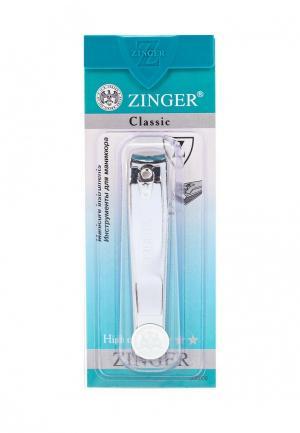Щипчики для ногтей Zinger. Цвет: серебряный
