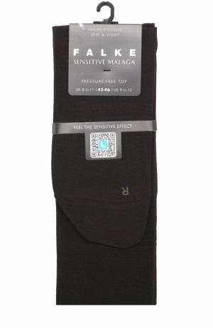 Хлопковые носки Sensitive Malaga Falke. Цвет: темно-коричневый