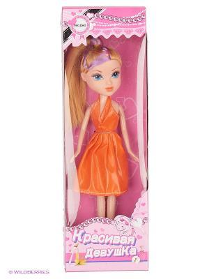 Кукла 4 вида . teeboo. Цвет: оранжевый