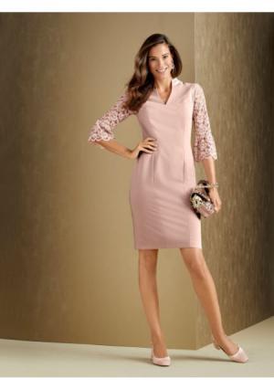 Платье PATRIZIA DINI by Heine. Цвет: розовый