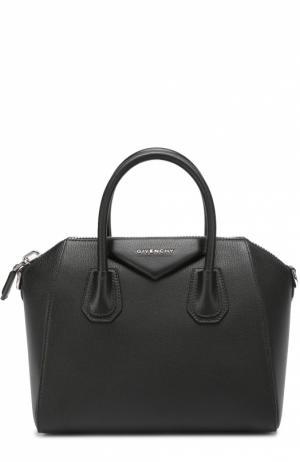 Сумка Antigona small Givenchy. Цвет: черный