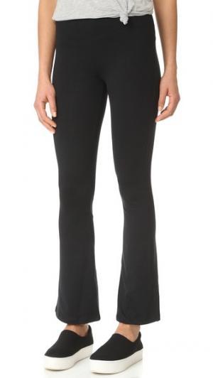 Расклешенные брюки David Lerner. Цвет: классический черный