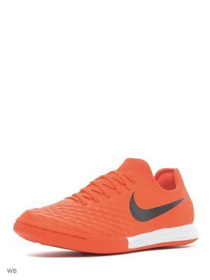 Кеды для зала MAGISTAX FINALE II IC Nike. Цвет: оранжевый