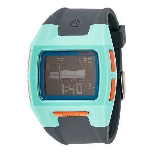Часы  Lodown S Light Blue/Charcoal/Pink Nixon. Цвет: голубой,серый