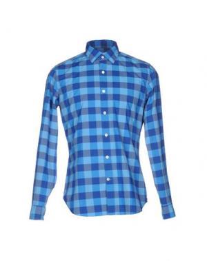 Pубашка MASTAI FERRETTI. Цвет: лазурный