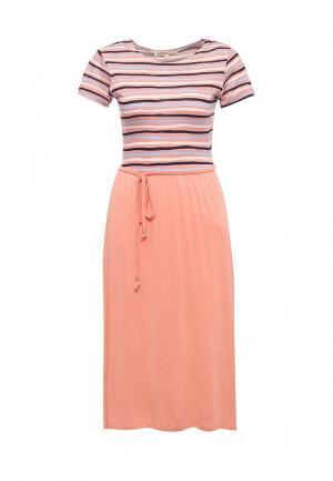 Платье Modis. Цвет: оранжевый