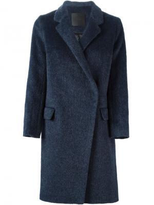 Пальто Gwen D.Efect. Цвет: синий