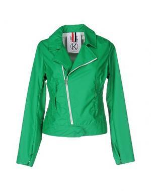 Куртка KILT HERITAGE. Цвет: зеленый