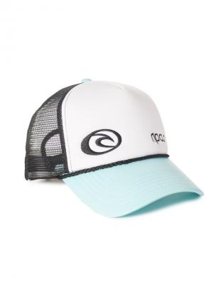 Кепка  HOTWIRE TRUCKA CAP Rip Curl. Цвет: черный,светло-голубой,белый