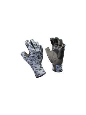 Перчатки рыболовные BUFF Pro Series Angler Gloves белая чешуя. Цвет: серый, белый