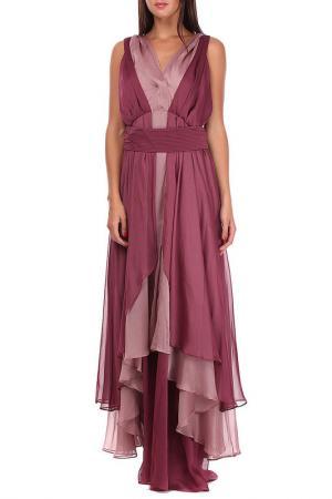 Платье Sassofono. Цвет: красный