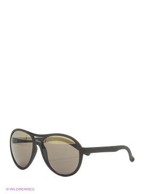 Солнцезащитные очки Franco Sordelli. Цвет: серый