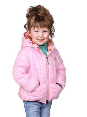 Куртка babyAngel. Цвет: розовый