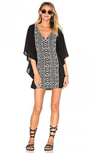 Мини платье juliana Tolani. Цвет: черный