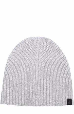 Кашемировая шапка Rag&Bone. Цвет: серый