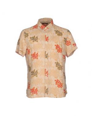 Pубашка MELTIN POT. Цвет: бежевый