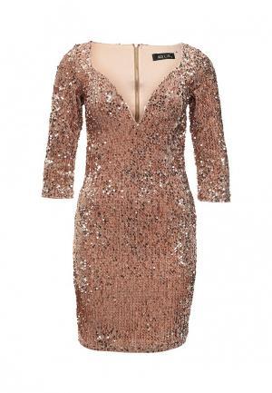 Платье Ad Lib. Цвет: золотой