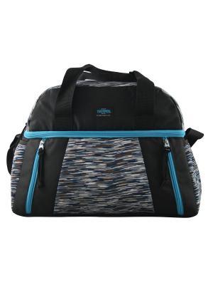 Сумка- термос тм THERMOS Studio Fitness duffle bag-blue. Цвет: синий