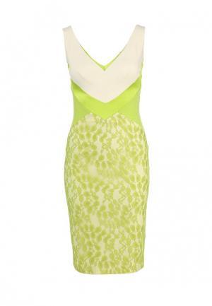 Платье Hybrid. Цвет: зеленый