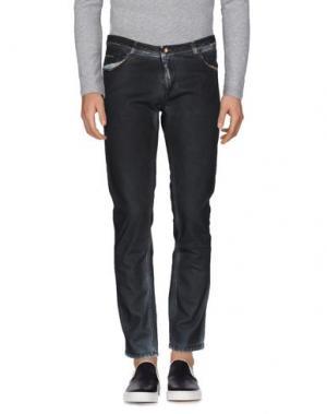 Джинсовые брюки TOM REBL. Цвет: черный