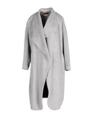Пальто STILLS. Цвет: светло-серый