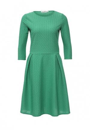 Платье Amplebox. Цвет: зеленый