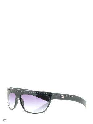 Солнцезащитные очки FM 505 01 Frankie Morello. Цвет: черный
