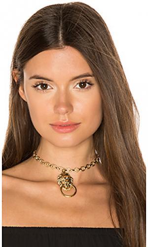 Золотой чокер vixen Vanessa Mooney. Цвет: металлический золотой