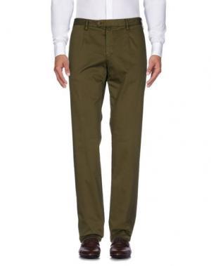 Повседневные брюки VERDERA. Цвет: зеленый-милитари