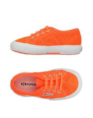 Низкие кеды и кроссовки SUPERGA®. Цвет: оранжевый