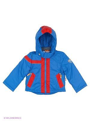 Куртка NELS. Цвет: синий, красный, темно-бордовый