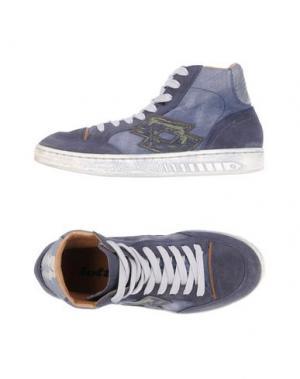 Высокие кеды и кроссовки LOTTO. Цвет: темно-синий