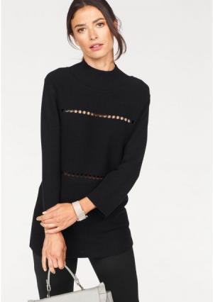 Пуловер Laura Scott. Цвет: черный