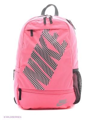 Рюкзак NIKE CLASSIC LINE. Цвет: розовый, серый, черный