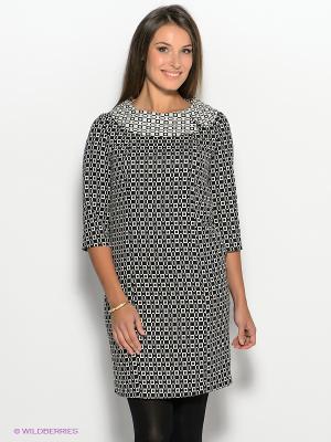 Платье AKIMBO. Цвет: черный, белый