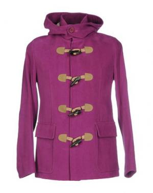 Пальто HARRY & SONS. Цвет: розовато-лиловый