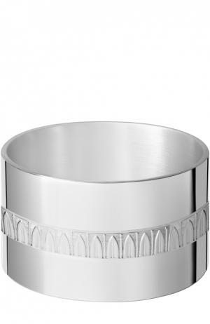 Кольцо для салфеток Malmaison Christofle. Цвет: бесцветный